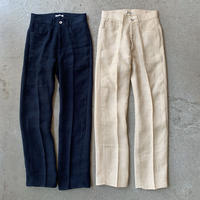 AURALEE - LINEN DOUBLE FACE 5P PANTS