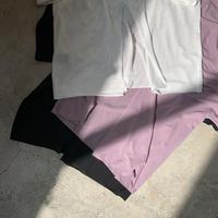 PHEENY - Cotton nylon seer S/S Tee