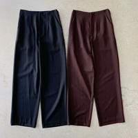 VillD - wool twill pants