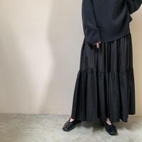 PHEENY - Organdie tiered skirt