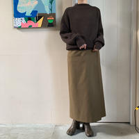 blurhms® - Wool Surge Wrap Skirt