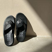 ISLAND SLIPPER - PB202 / BLACK SMOOTH MEN