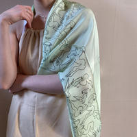 KNOBBLY STUDIO - Mermaids Silk Scarf