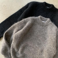 blurhms® - Kid Mohair Alpaca Wool Knit P/O