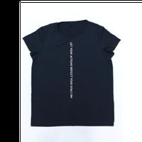 (ROLA MOCA)   ロゴ Tシャツ BLACK