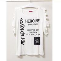 (HEROINE)  ドルマンT オフホワイト
