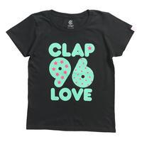(CLAP)  S-CLAP-96  Tee ブラック