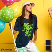 (JUICE OF JOY) ジュースオブジョイ ロゴ Tシャツ BLACK NAVY Mサイズ