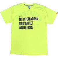 INTL. WORLD TRIBE TRI-BLEND PERFORMANCE Tee セーフティグリーンMサイズLサイズ