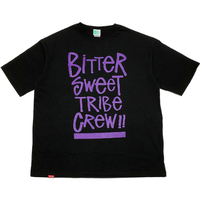 TRIBE CREW OVER SIZED Tee ブラック Mサイズ