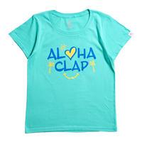 (CLAP)  ALOHA CLAP Tee ミント
