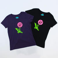 (JUICE OF JOY )ジュースオブジョイ スウィングロゴ Tシャツ BLACK PURPLE Mサイズ Lサイズ