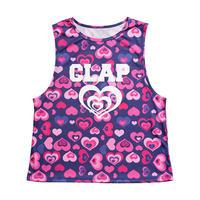 (CLAP)  HEART HEART BOX TANK ネイビー