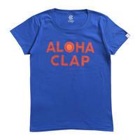 (CLAP)  ALOHA CLAP  Tee ブルー