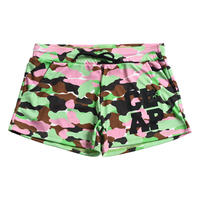 (CLAP)  CAMOUFLAGE  SHORTS グリーン