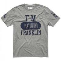 (FRANKLIN&MARSHALL)  Tシャツ ライトグレー