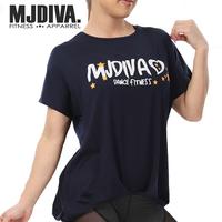 (MJDIVA)ゆるシルエットワイドドルマンTEEシャツNV