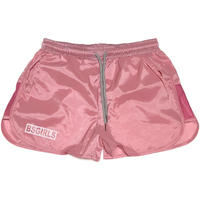 BSG  BOX  LOGO  GIRLS  RUN  SHORT ピンク