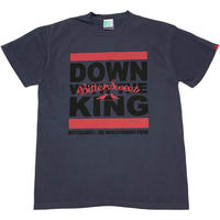 DOWN WITH THE KING GERMENT DYED Tee ネイビー