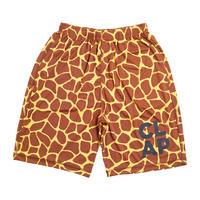 (CLAP) Giraffe HALF PANTS イエロー