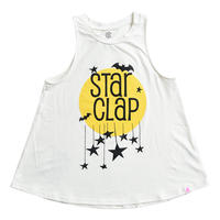 (CLAP)  STAR CLAP a-LINE TANK ホワイト