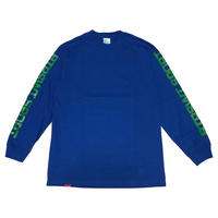 BS SPORT L/SL Tee ロイヤルブルー Mサイズ Lサイズ