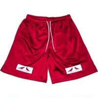 2 BIRDS BOX LOGO MESH SHORTS レッド