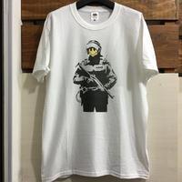 BANKSY バンクシー スマイルポリスTシャツ