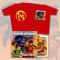 "Neo Hero ""Born Again"" Special Set (T-Shirt + CD)"