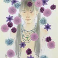 松平一民 「モチイデナム」    44×29cm         Matsudaira Kazutami