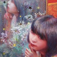 市川光鶴「In my room」サムホール  Ichikawa  Mitsuru