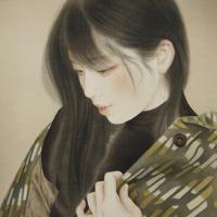 やちだけい「冬浅し」F3号  Yachida    Kei