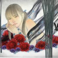 松平一民 「閼伽井」(あかい)    P4号       Matsudaira Kazutami