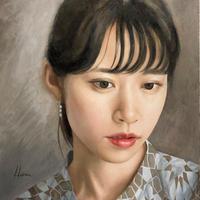 児玉慶多「回想する肖像」F4 Kodama Keita