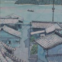 瀧内秀一「海猫の島へ」410×310  Takiuchi  Shuichi