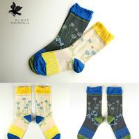 クリボテラ shirotsumegusa socks