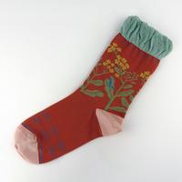 クリボテラ nanohana socks
