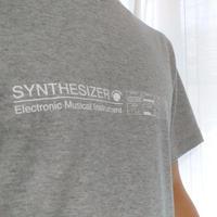 【Tシャツ】SYNTHESIZER T-shirt・シンセサイザーTシャツ・グレー