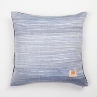 Natural Indigo dyeing handwoven cotton cushion cover  天然インディゴ染め、手織りコットンクッションカバー   PCI-004
