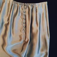 Silk skirt size S