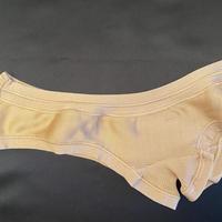 Silk 100% brief size 3 Beige