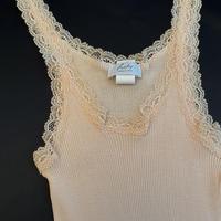 Cotton100%Camisole  Nude
