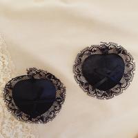 Nipples cover Black lace/ribbon size free