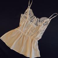 Silk camisole White size S