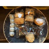 スコーン2種とブラウニーとレモンケーキとクッキーBOX【5/16日発送】