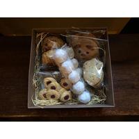 全粒粉のスコーン×2とチョコレートの全粒粉スコーン×2とクッキーBOX【6/12土発送】