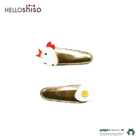 "HELLO shiso ""Chicken+ Egg Clips"""