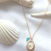 14kgf☆shrimphoop necklace