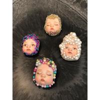 赤ちゃんブローチ 4種類