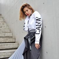 【Calvin Klein】BACKPRINT L/S TEE